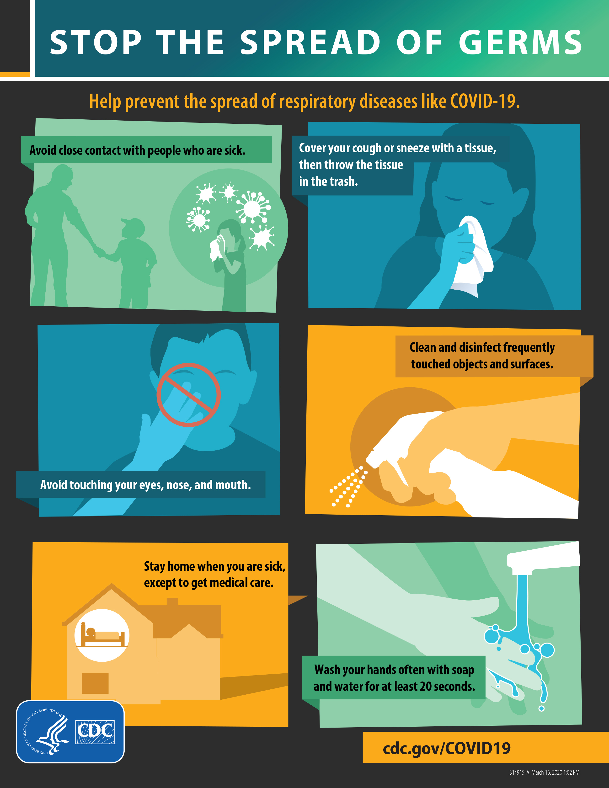 Stop the Spread of Germs (COVID-19)